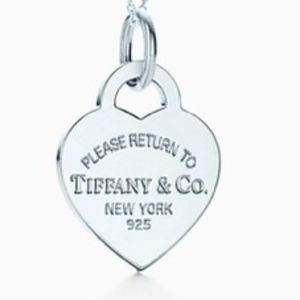 Tiffany & Co. Heart Tag